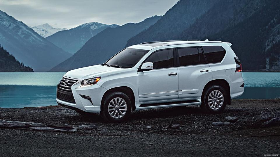 At 6 Feet Tall The 2017 Lexus Gx 460 Luxury Rides High Off Ground
