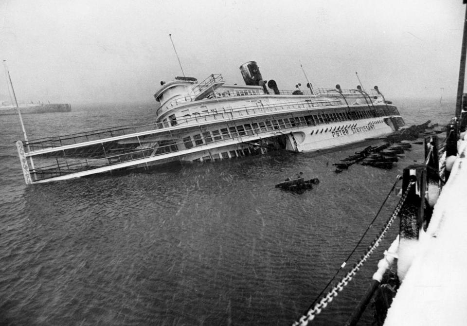 Ss Stuyvesant A Casualty Of The Blizzard Of 78 Finally