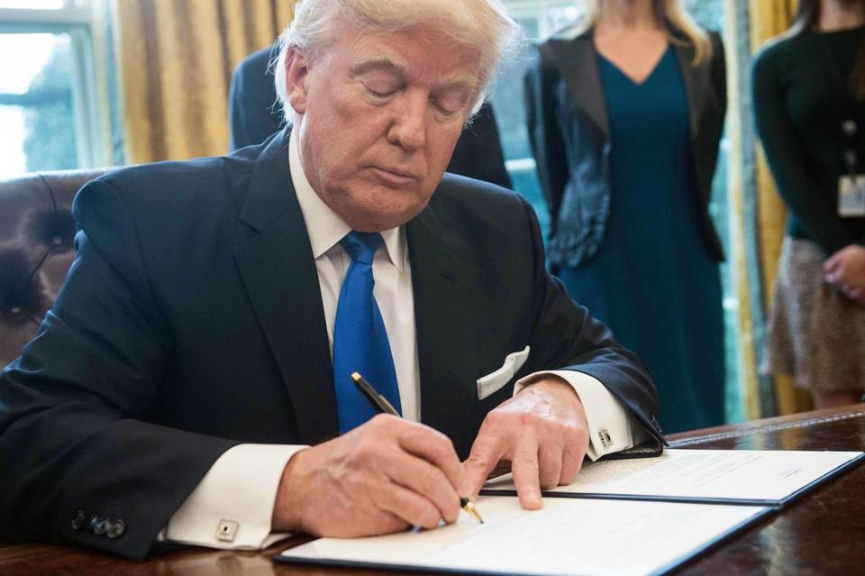 President Trump signed executive orders reviving the construction of two controversial oil pipelines last month.