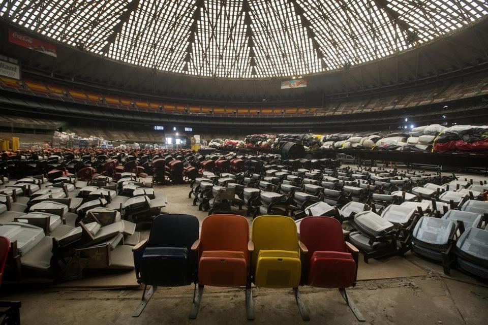 memories are all that�s left of houston astrodome the