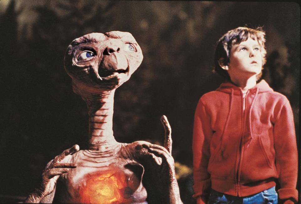 "Williams created the musical score for the 1982 film ""E.T. The Extra Terrestrial."""