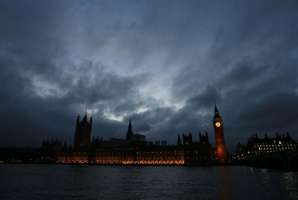 (FILES) This file photo taken on February 1, 2017, shows the Elizabeth Tower, commonly known as Big Ben, and the Houses of Parliament, pictured by the River Thames in London. MPs look set to approve a bill on Febraury 8, 2017, empowering Prime Minister Theresa May to start Brexit negotiations, in a major step towards Britain leaving the European Union. / AFP PHOTO / Daniel LEAL-OLIVASDANIEL LEAL-OLIVAS/AFP/Getty Images