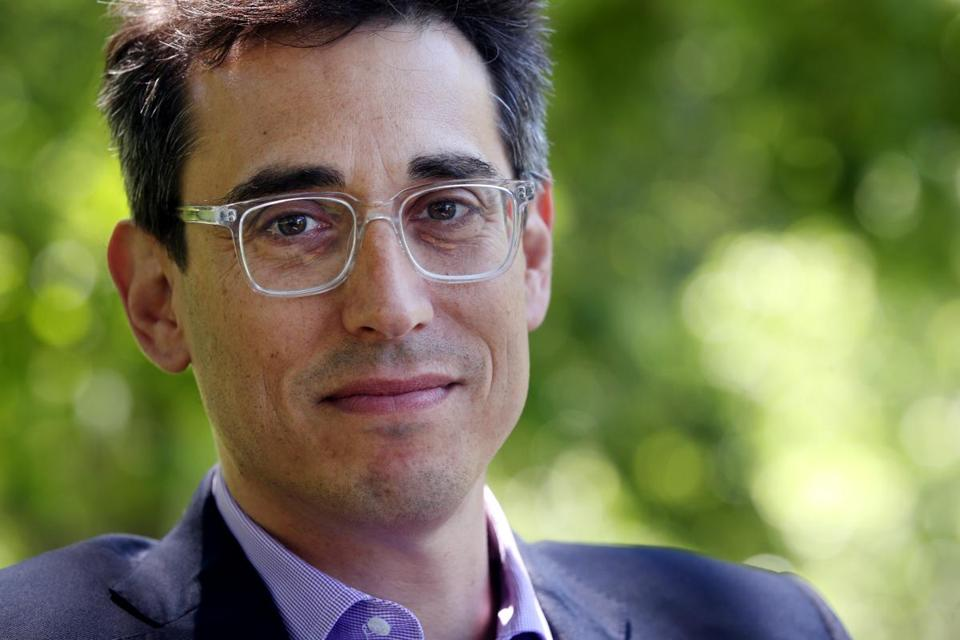 Evan Falchuk, who ran for governor in 2014, said he filed paperwork to enroll in the Democratic Party.