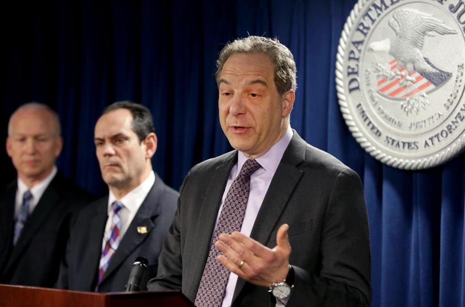 Acting United States Attorney William D. Weinreb, at a press conference on Thursday at District Court in Boston, said federal agents foiled a $2.5 million cocaine-trafficking plot.