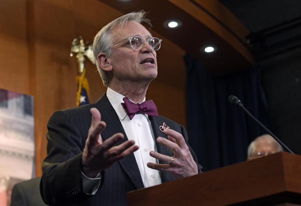 "In March 2017, Representative Earl Blumenauer spoke on Capitol Hill about the need to ""clarify and strengthen"" the 25th Amendment of the Constitution, which lays out presidential succession and the steps the executive branch can take to remove a president from office."