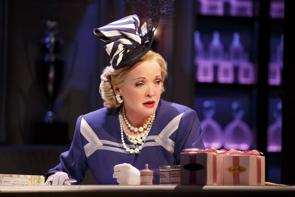 "Christine Ebersole as Elizabeth Arden in ""War Paint.''"