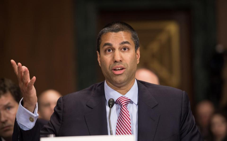 Federal Communications Commission (FCC) Commissioner Ajit Pai.