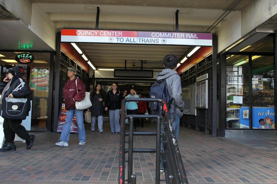 Mbta ponders proposal for quincy center station with 600 - Boston interiors clearance center ...