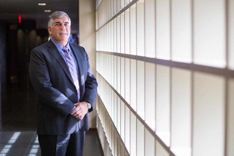 Andrew Glincher CEO Of Nixon Peabody In The Firms Boston Office