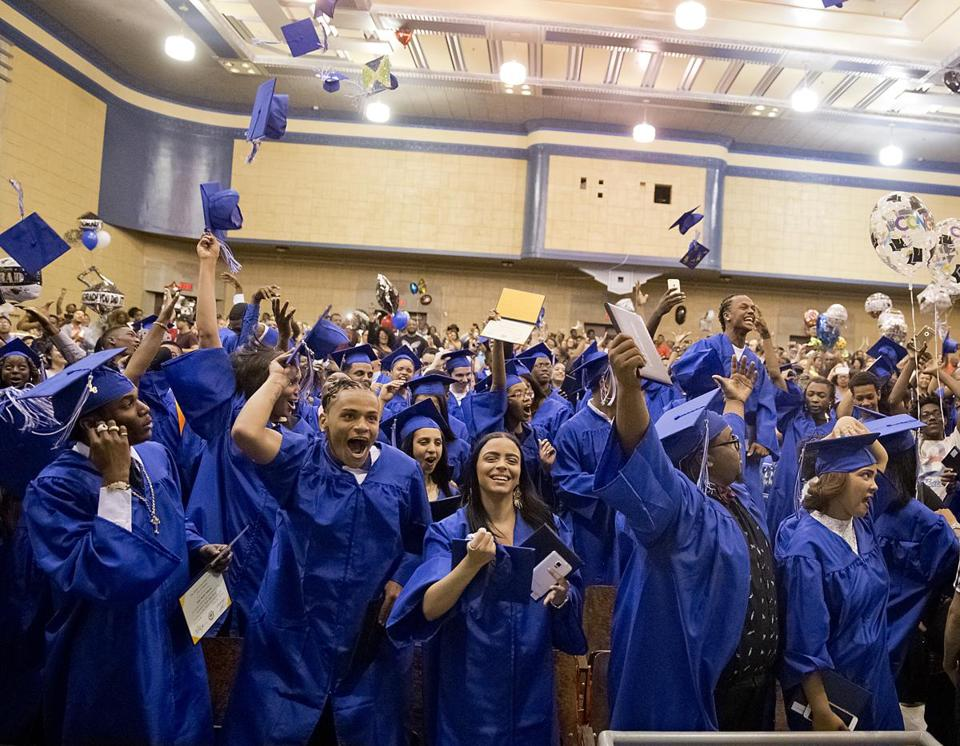 Overall, 87.5 percent of 12th graders graduated last year within four years, up from 87.3 percent the previous year.