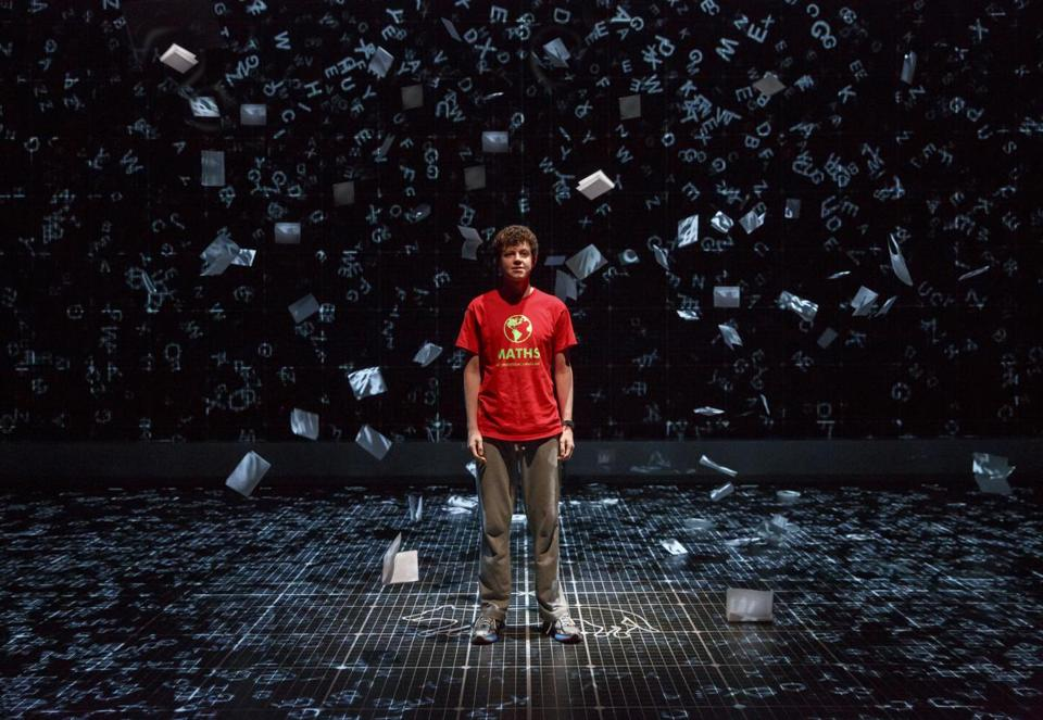 "Adam Langdon as Christopher Boone in ""The Curious Incident of the Dog in the Night-time.''"