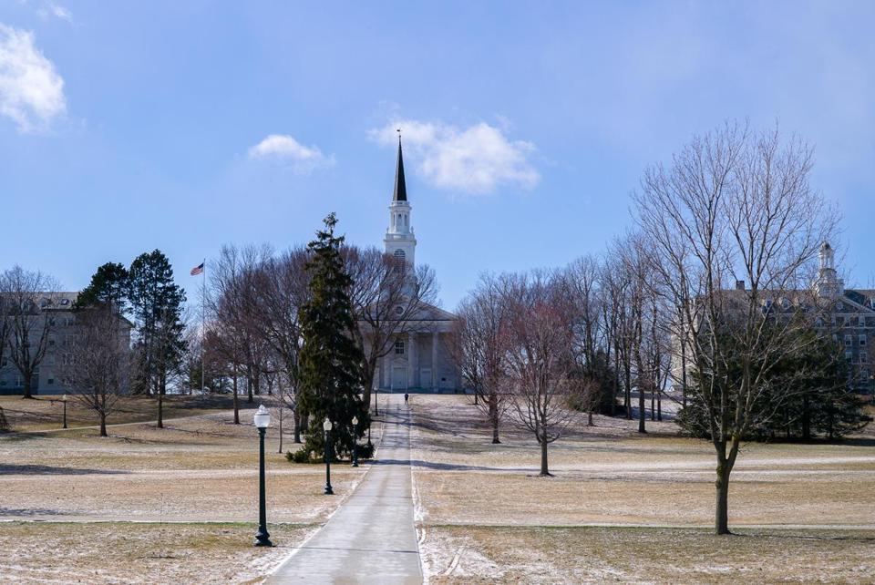 Middlebury College campus.