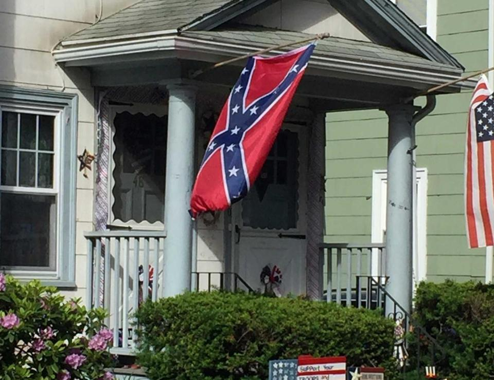 A Confederate Flag Ears Symbol Of Conversation Hope The Boston Globe