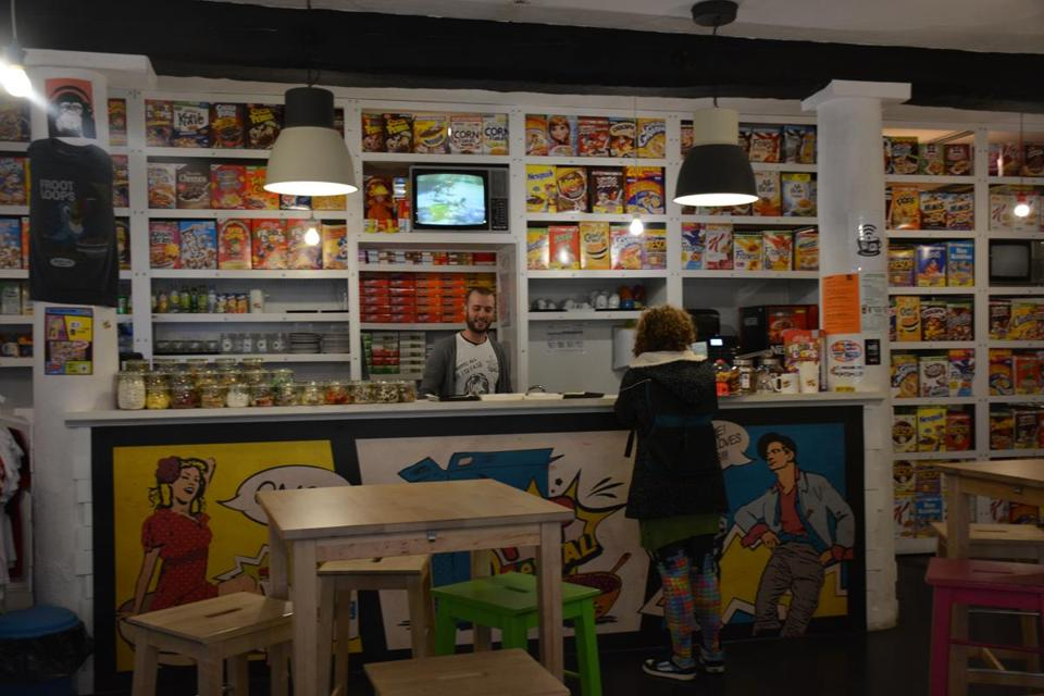 Pop Cereal Cafe in the Bairro Alto neighborhood is budget friendly.