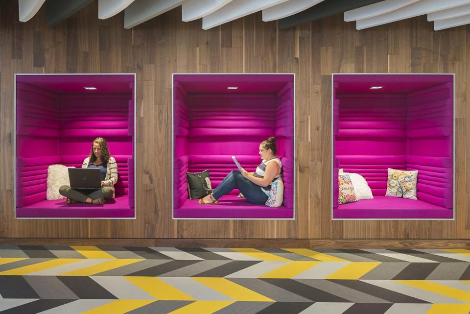 Charmant Dyer Brown, An Architectural Firm, Has Designed Cubbies As Workspaces For  The Boston Offices