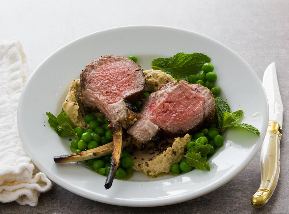For cheaper chops, make rack of lamb at home