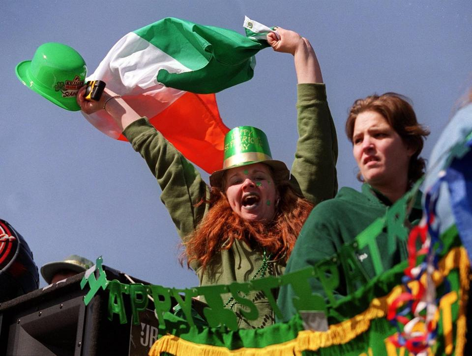 Massachusetts is a stronghold for people of Irish descent.
