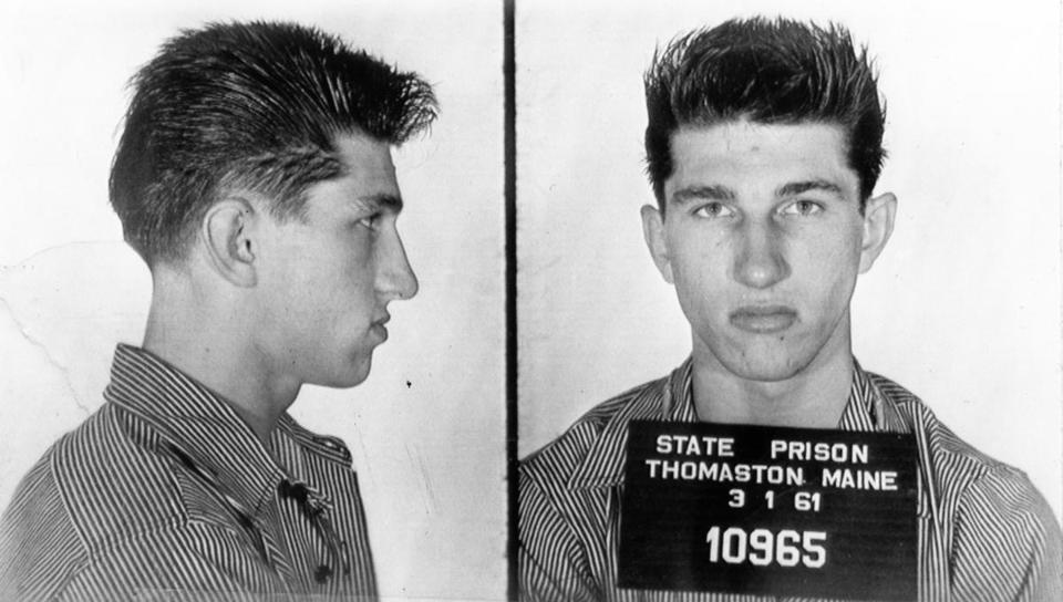 The 1966 mug shot of Richard Steeves.
