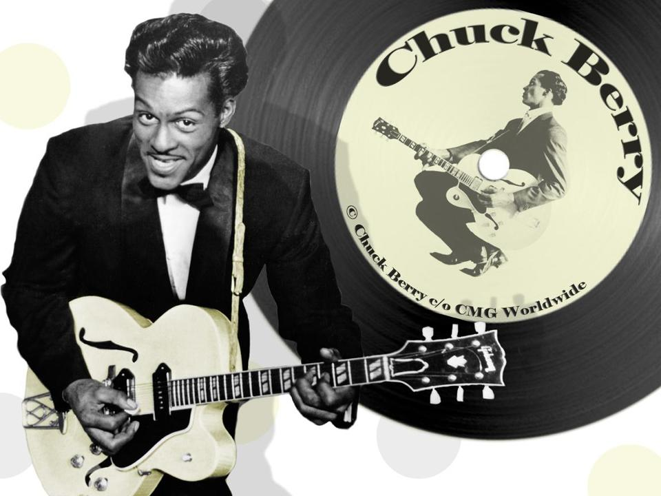 Chuck Berry earlier in his career.