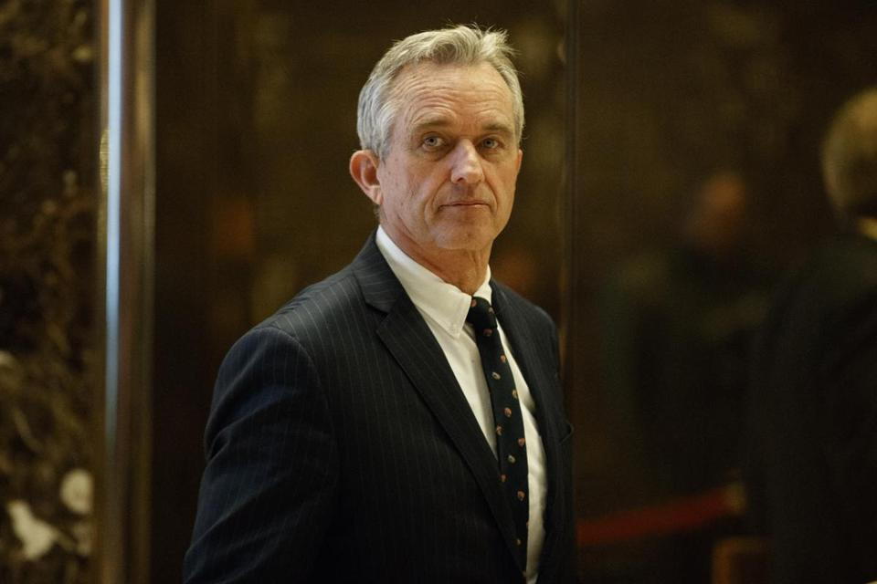 Robert F. Kennedy Jr. arrived at Trump Tower in January for a meeting wtih the president-elect.