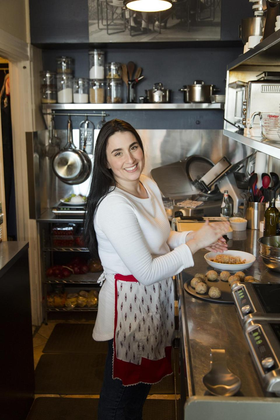 Enoteca Umberto's chef and co-owner Lia Bellini.