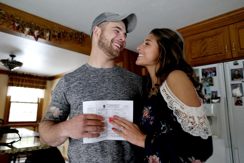 A missing wedding license couldn't stop this Medway marriage