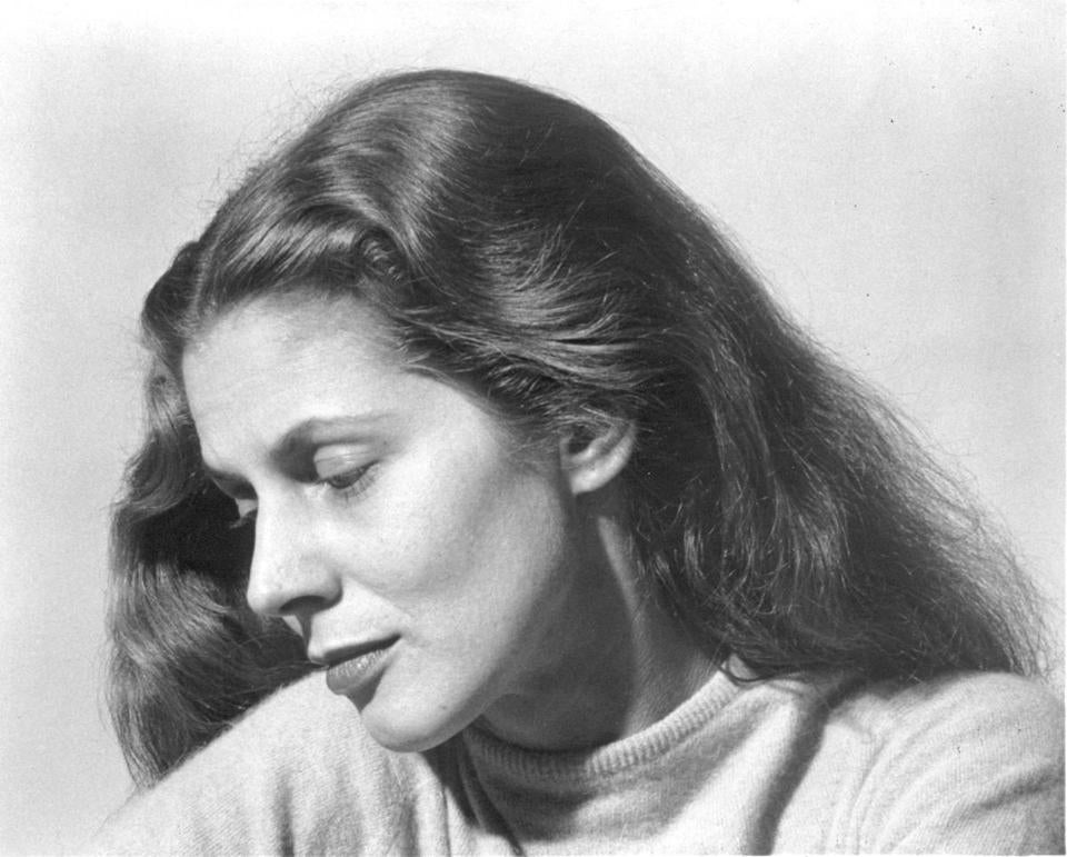 A photo of Ms. Wheeler in the 1950s. Early in her acting career, she appeared on stage and television.