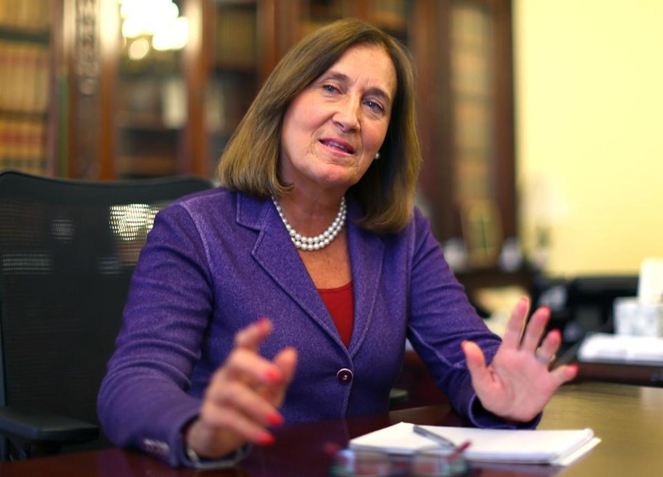 The bill follows up on a pledge from State Treasurer Deb Goldberg to use investment power to force change in the gun industry.