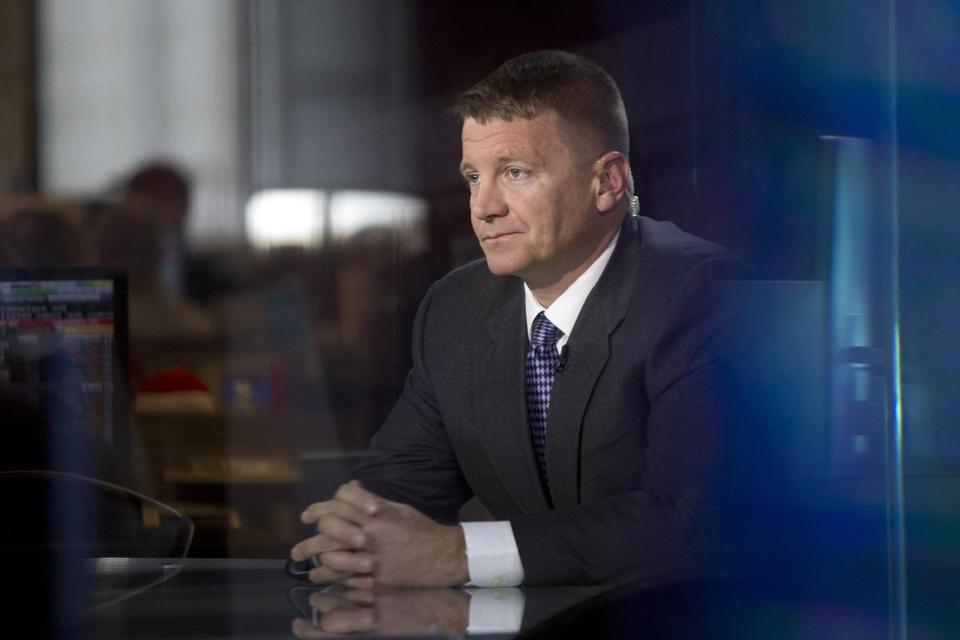 Erik Prince is the founder of Blackwater Worldwide.