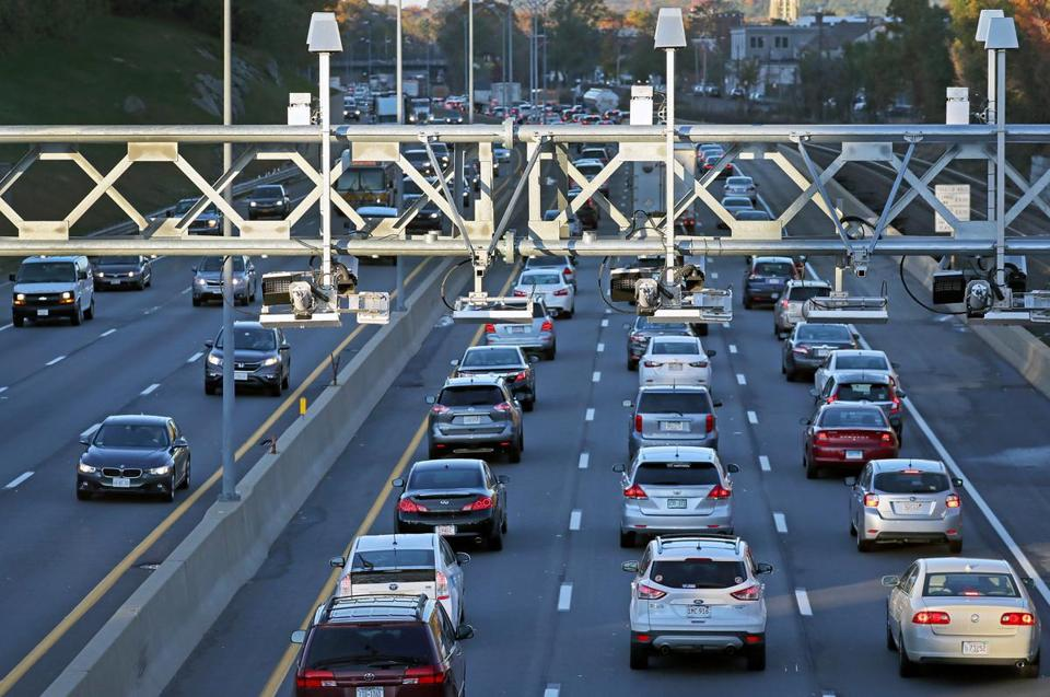 MassDOT introduced electronic tolling on the Massachusetts Turnpike last year.