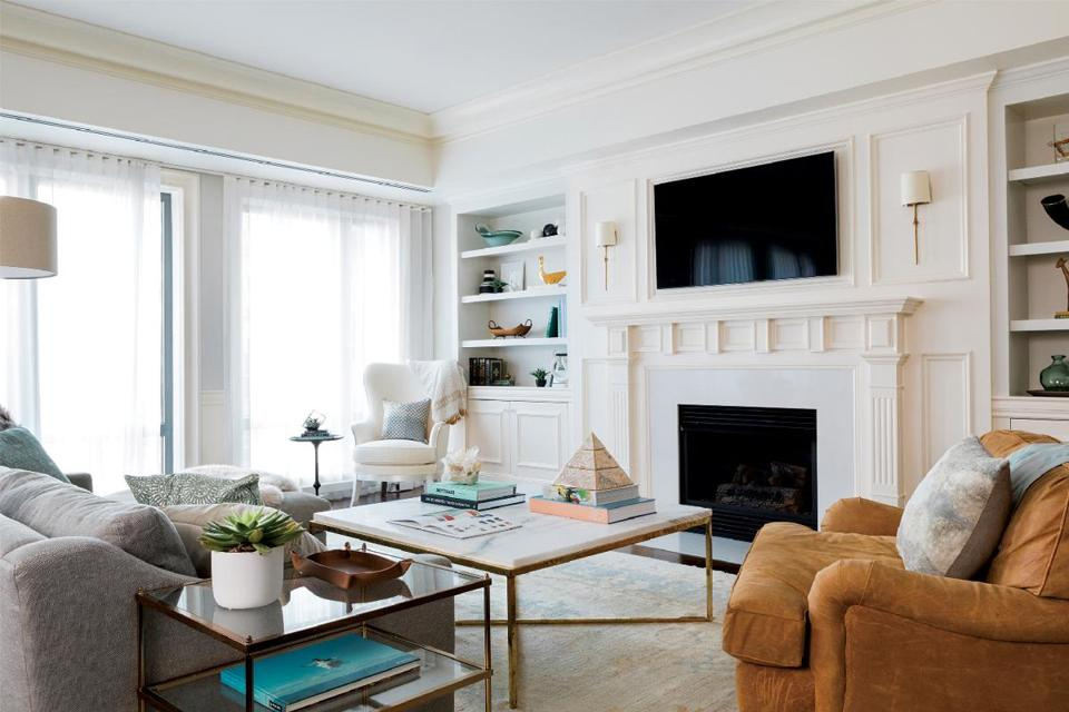 Creating A Young Modern Feel In Traditional Back Bay Condo
