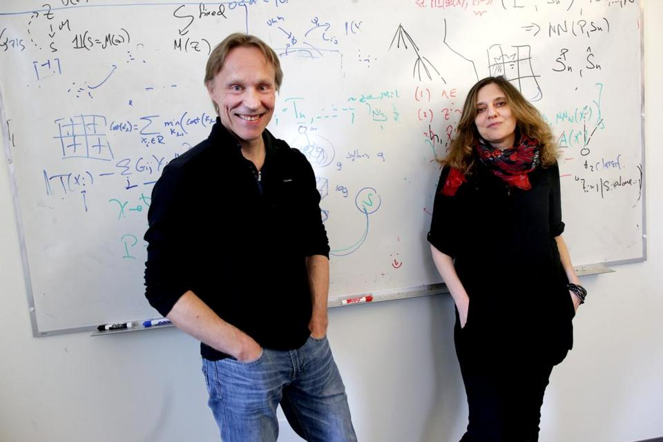 MIT professors Tommi Jaakkola and Regina Barzilay teach the popular Introduction to Machine Learning course.