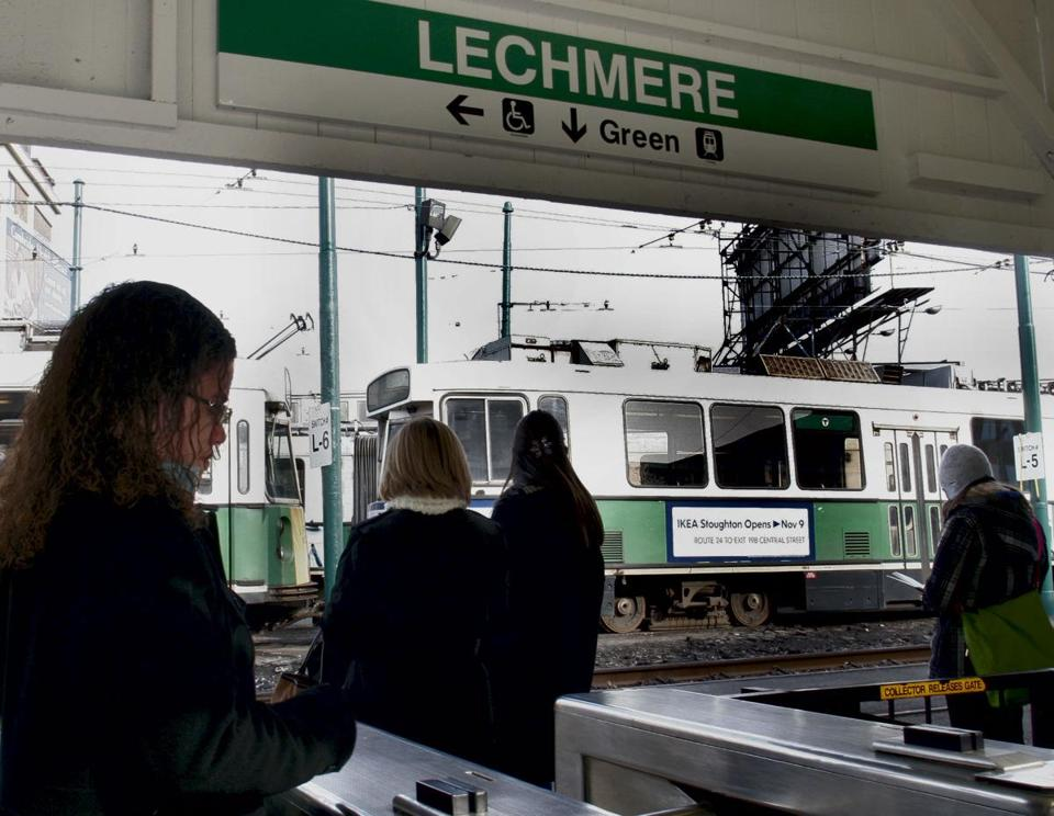 Green Line service would be extended from the current northern terminus, Lechmere, 4.7 miles to Somerville and Medford.