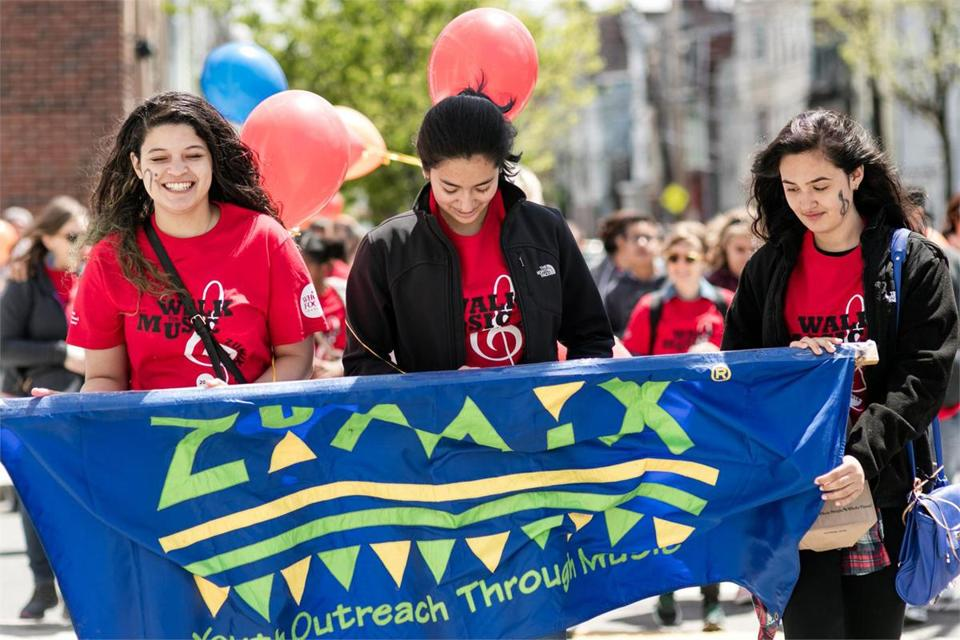 The Zumix Walk for Music takes place April 28 in East Boston.