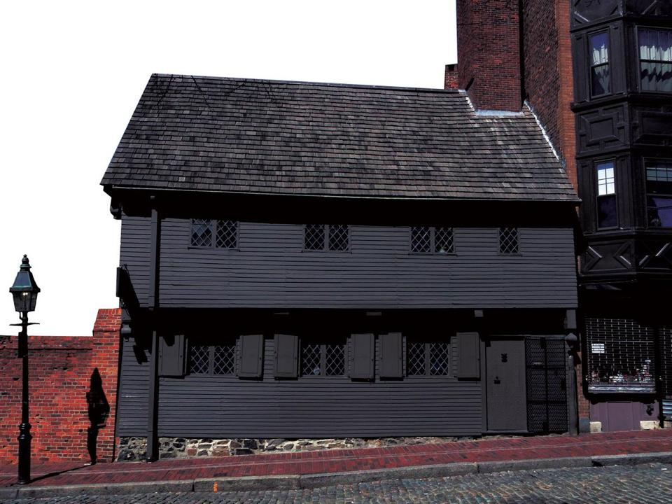 Amazing Christopher Klein/file. The Paul Revere House.