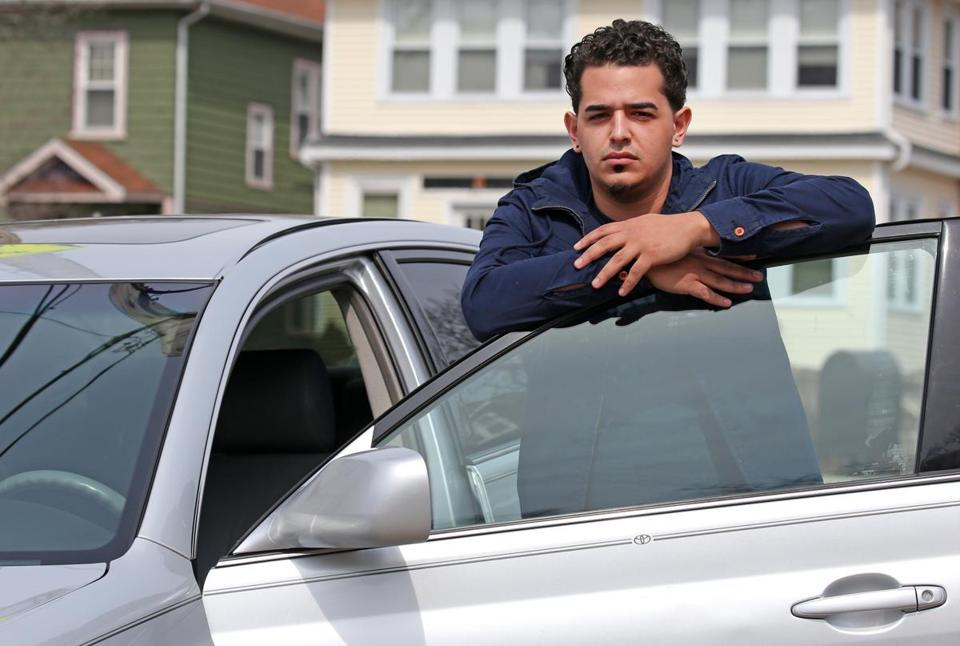 BOSTON, MA - 4/12/2017: Edward Fares, who was denied a Lyft certificate by the state after driving for the company for 2 months.(David L Ryan/Globe Staff Photo) SECTION: BUSINESS TOPIC 12UberAppeal