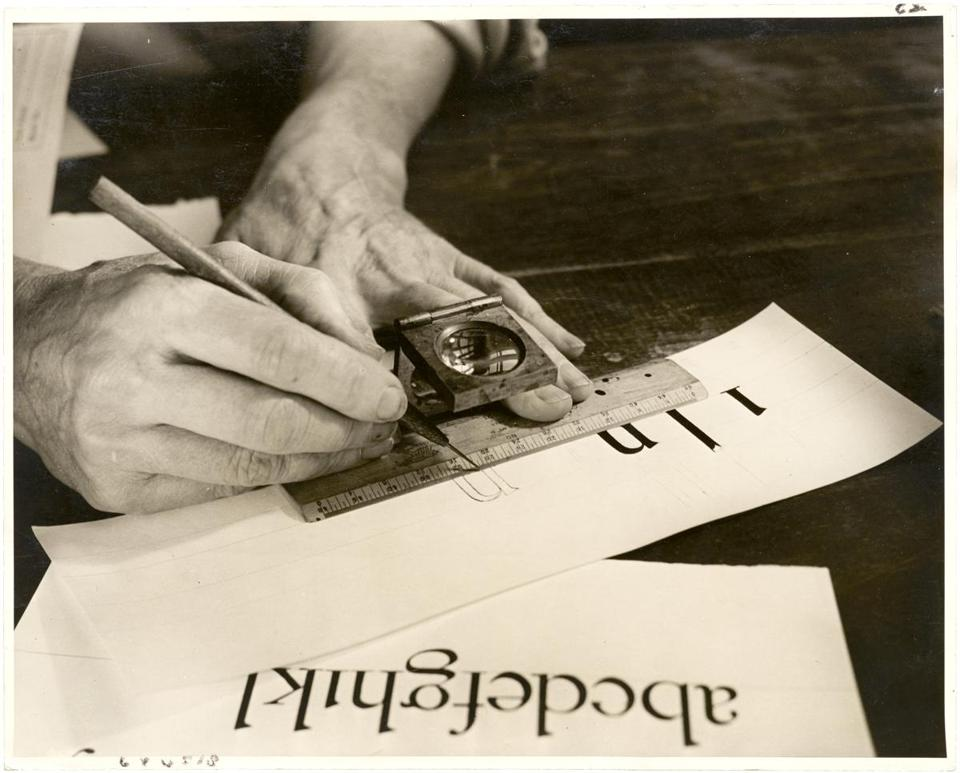 "A photo from ""W.A. Dwiggins: A Life in Design.''"