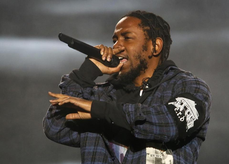 Kendrick Lamar performed on the second day of the Austin City Limits Music Festival last October.