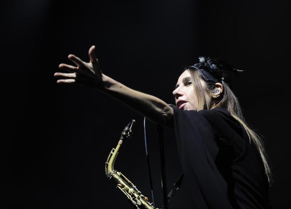 PJ Harvey (pictured last year at a music festival in Barakaldo, Spain) performed Monday at the House of Blues.