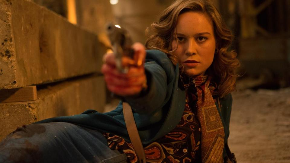 "Brie Larson in ""Free Fire."""