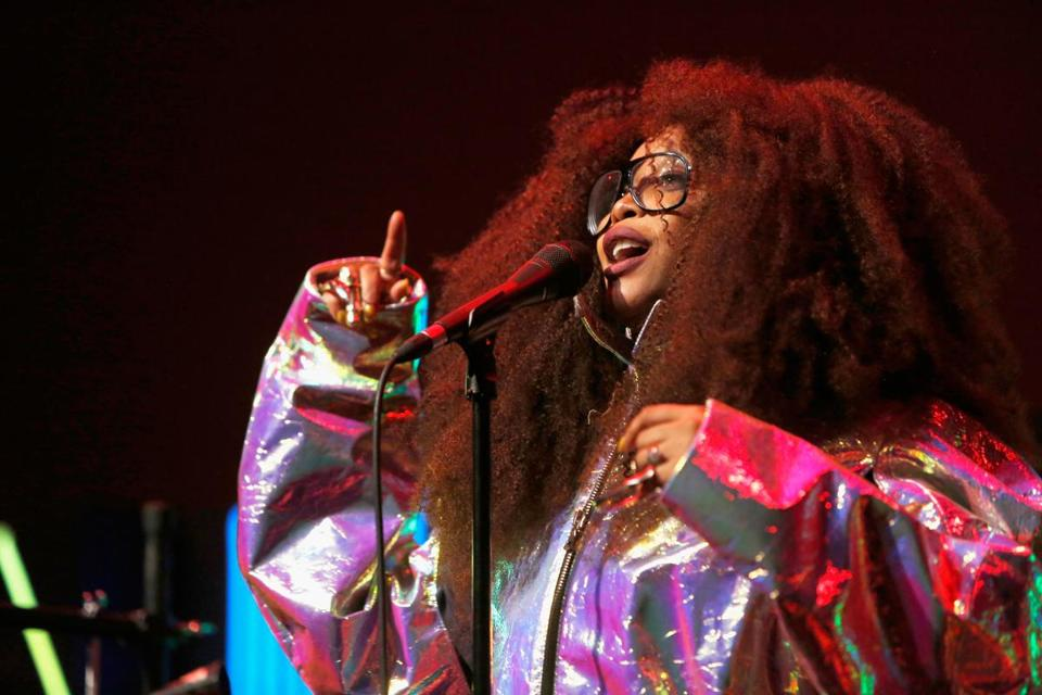 Erykah Badu plays the House of Blues on April 28.