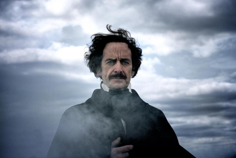 "Denis O'Hare in ""Edgar Allan Poe: Buried Alive."""