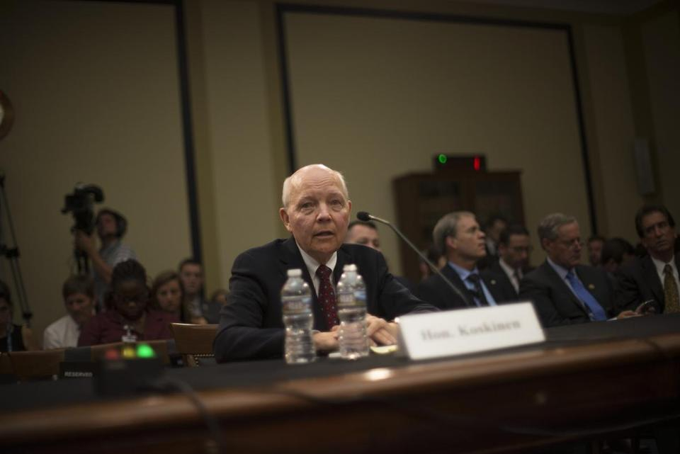 IRS Commissioner John Koskinen said stolen identities dropped from 700,000 in 2015 to 377,000 in 2016.