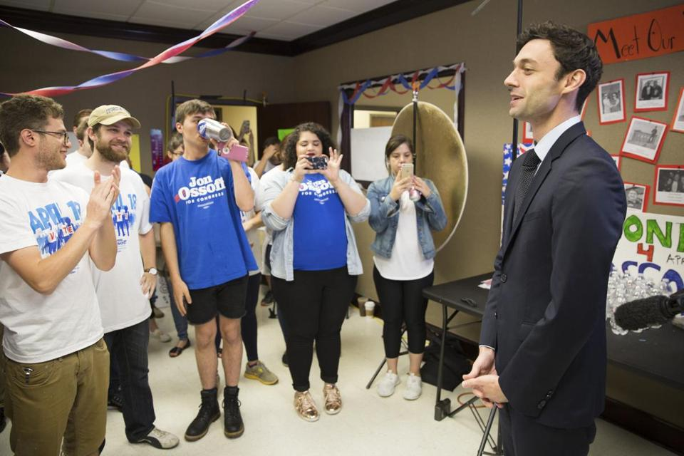 Jon Ossoff, the Democratic candidate in Georgia's Sixth Congressional District.