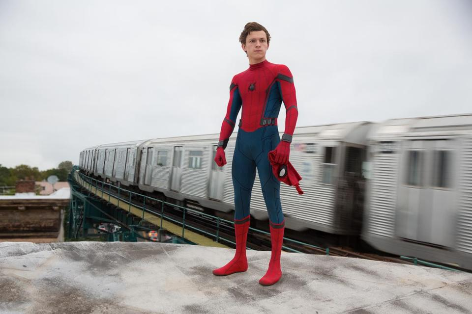 "Tom Holland in ""Spider-Man: Homecoming."""