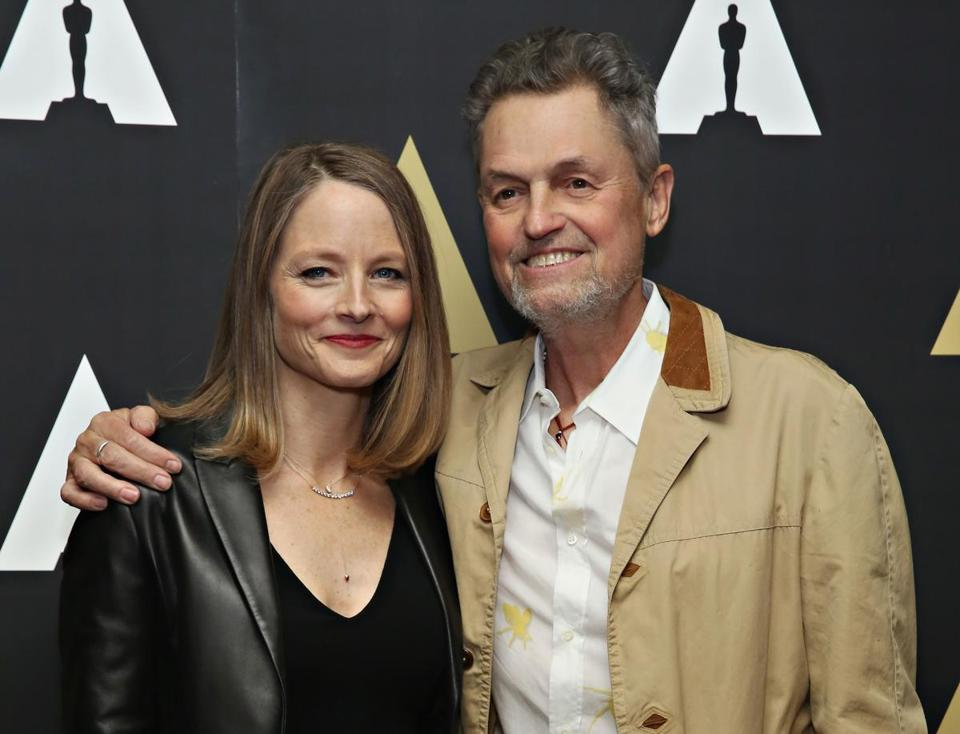 "FILE - 26 APRIL 2017: Director Jonathan Demme , 73, has died of cancer and complications from heart disease. NEW YORK, NY - APRIL 20: Actress Jodie Foster and director Jonathan Demme attend The Academy Museum presents 25th Anniversary event of ""Silence Of The Lambs"" at The Museum of Modern Art on April 20, 2016 in New York City. (Photo by Cindy Ord/Getty Images)"