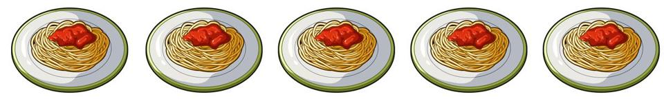 The dish in which wheat spaghetti with red sauce.Main dish vegetarian.Vegetarian Dishes single icon in cartoon style vector symbol stock web illustration.