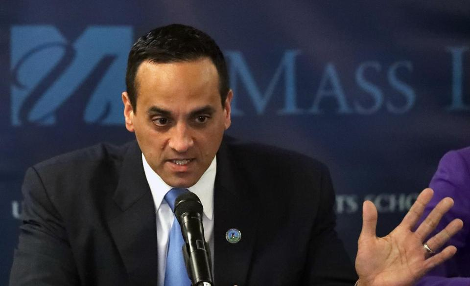 """We are encouraged by the District Court's ruling,"" said Somerville Mayor Joseph Curtatone (above)."