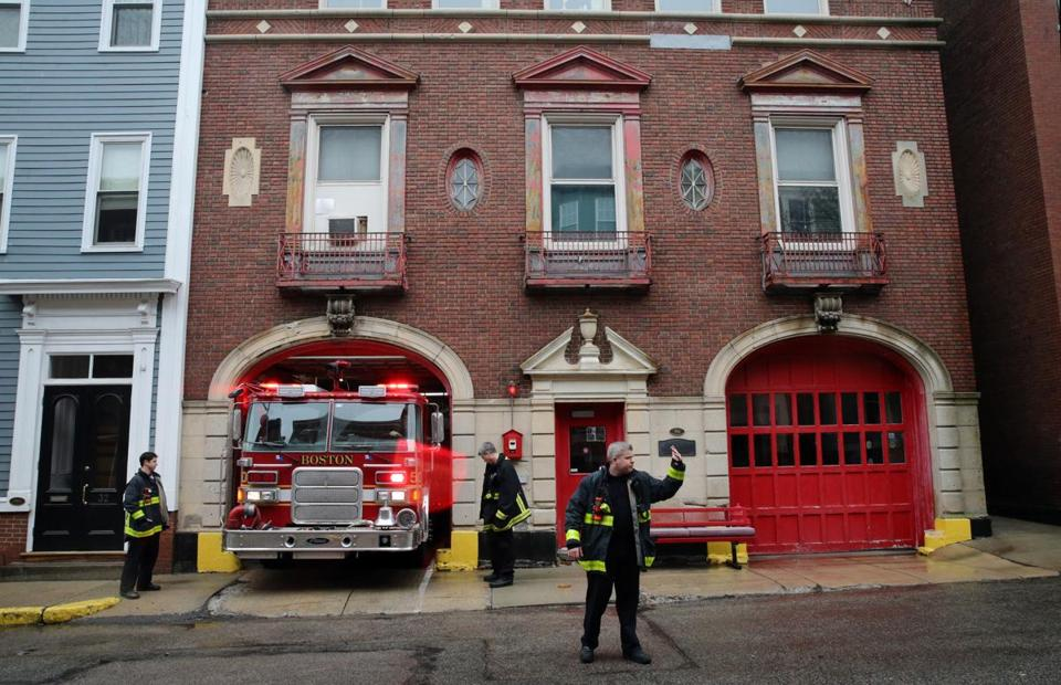 Nearly 100, a Boston firehouse eyes new start - The Boston Globe on