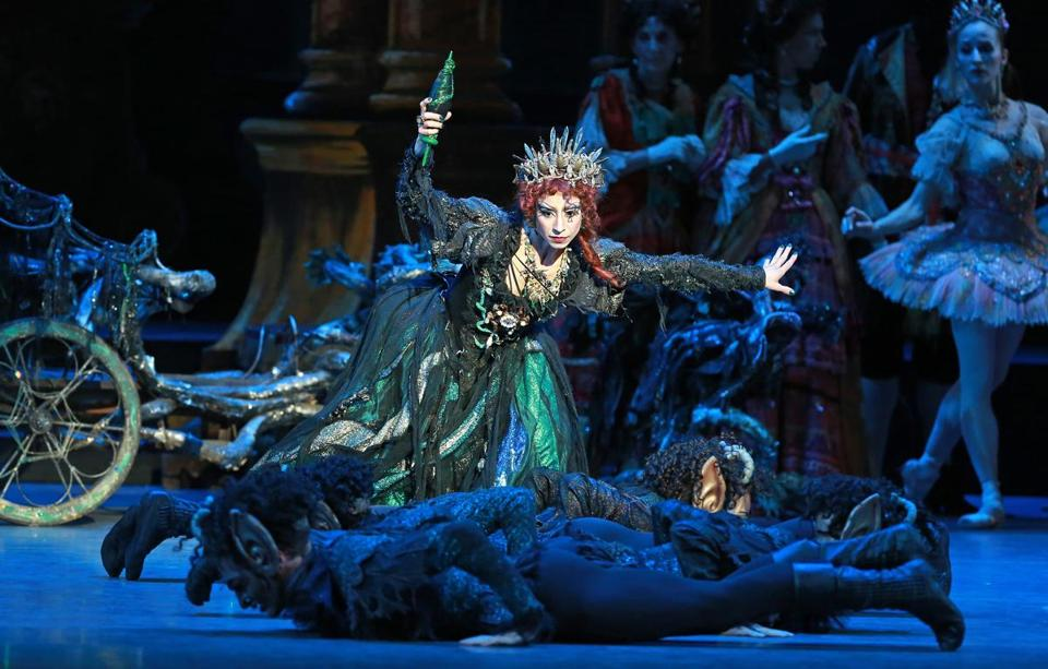 "Erica Cornejo as Carabosse in a Boston Ballet production of ""The Sleeping Beauty."""